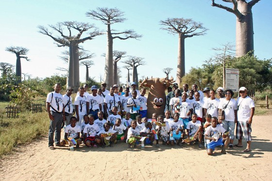 Baobab trees are inspiring action for conservation in Madagascar (Credit Cynthia Raveloson).