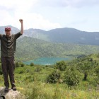 Brett at the end of his fieldwork at Sary-Chelek Biosphere Reserve.